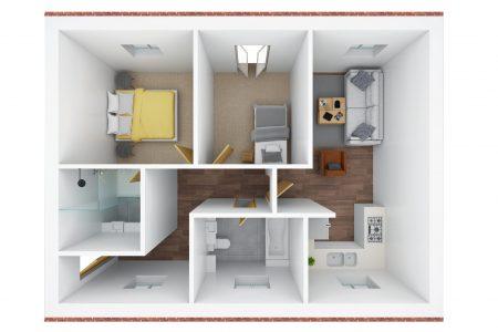 3D floor plan - Q